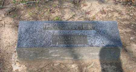 ISAMINGER, AMANDA J. - Lawrence County, Arkansas | AMANDA J. ISAMINGER - Arkansas Gravestone Photos