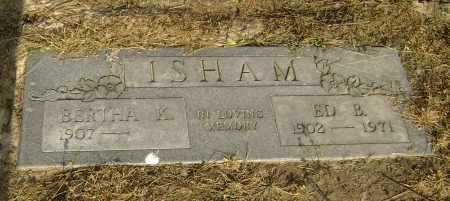 ISHAM, ED BENTON - Lawrence County, Arkansas | ED BENTON ISHAM - Arkansas Gravestone Photos