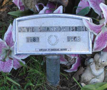 ISREAL, DAVID SHANNON - Lawrence County, Arkansas   DAVID SHANNON ISREAL - Arkansas Gravestone Photos