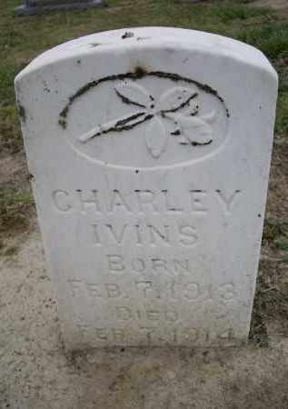 IVINS, CHARLEY - Lawrence County, Arkansas | CHARLEY IVINS - Arkansas Gravestone Photos