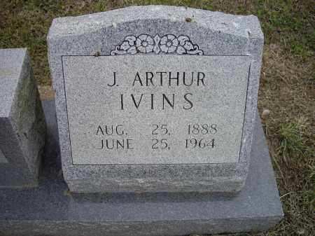 "IVINS, JAMES ARTHUR  ""J. ARTHUR"" - Lawrence County, Arkansas 