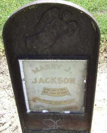 JACKSON, MARRY J - Lawrence County, Arkansas | MARRY J JACKSON - Arkansas Gravestone Photos