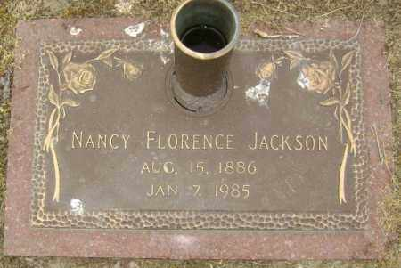JACKSON, NANCY FLORENCE - Lawrence County, Arkansas | NANCY FLORENCE JACKSON - Arkansas Gravestone Photos