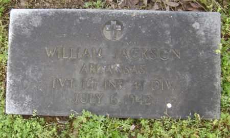 JACKSON (VETERAN WWII), WILLIAM - Lawrence County, Arkansas | WILLIAM JACKSON (VETERAN WWII) - Arkansas Gravestone Photos