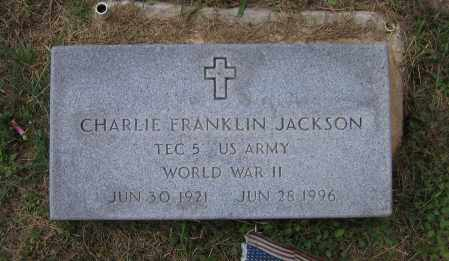 JACKSON (VETERAN WWII), CHARLIE FRANKLIN - Lawrence County, Arkansas | CHARLIE FRANKLIN JACKSON (VETERAN WWII) - Arkansas Gravestone Photos