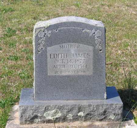 JAMES, EDITH - Lawrence County, Arkansas   EDITH JAMES - Arkansas Gravestone Photos