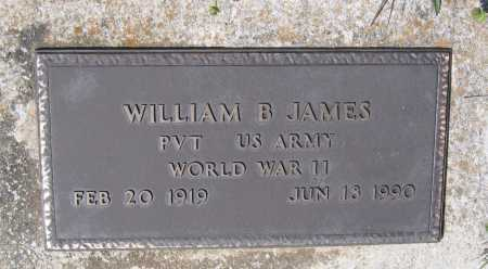 JAMES (VETERAN WWII), WILLIAM BONNER - Lawrence County, Arkansas | WILLIAM BONNER JAMES (VETERAN WWII) - Arkansas Gravestone Photos