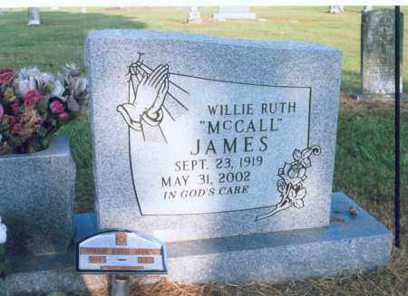 JAMES, WILLIE RUTH - Lawrence County, Arkansas | WILLIE RUTH JAMES - Arkansas Gravestone Photos