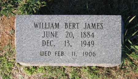 "JAMES, WILLIAM BERTON ""BERT"" - Lawrence County, Arkansas | WILLIAM BERTON ""BERT"" JAMES - Arkansas Gravestone Photos"