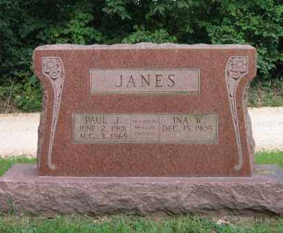 JANES, PAUL J. - Lawrence County, Arkansas | PAUL J. JANES - Arkansas Gravestone Photos