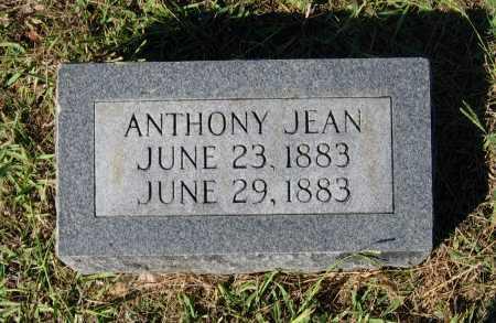 JEAN, ANTHONY - Lawrence County, Arkansas   ANTHONY JEAN - Arkansas Gravestone Photos