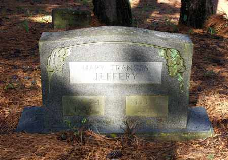 JEFFERY, MARY FRANCES - Lawrence County, Arkansas | MARY FRANCES JEFFERY - Arkansas Gravestone Photos