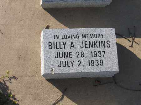 JENKINS, BILLY A. - Lawrence County, Arkansas | BILLY A. JENKINS - Arkansas Gravestone Photos