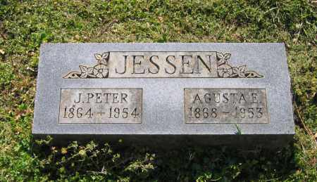 JESSEN, AGUSTA E. - Lawrence County, Arkansas | AGUSTA E. JESSEN - Arkansas Gravestone Photos