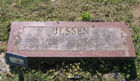 JESSEN, EMMA CANZATA - Lawrence County, Arkansas | EMMA CANZATA JESSEN - Arkansas Gravestone Photos