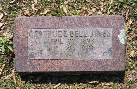 JINES, GERTRUDE BELL - Lawrence County, Arkansas | GERTRUDE BELL JINES - Arkansas Gravestone Photos