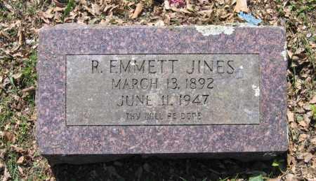 JINES, R. EMMETT - Lawrence County, Arkansas | R. EMMETT JINES - Arkansas Gravestone Photos