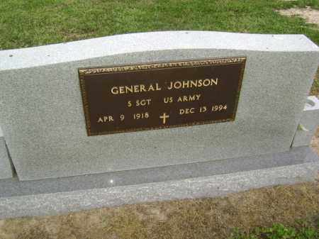 JOHNSON  (VETERAN), GENERAL - Lawrence County, Arkansas | GENERAL JOHNSON  (VETERAN) - Arkansas Gravestone Photos