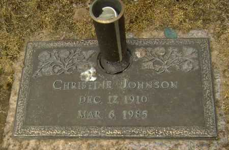 JOHNSON, CHRISTINE - Lawrence County, Arkansas | CHRISTINE JOHNSON - Arkansas Gravestone Photos