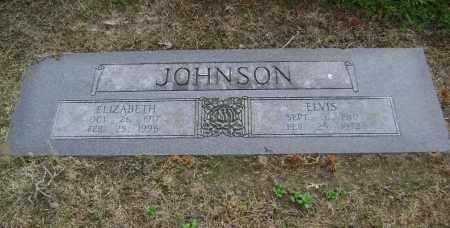 JOHNSON, ELVIS - Lawrence County, Arkansas | ELVIS JOHNSON - Arkansas Gravestone Photos