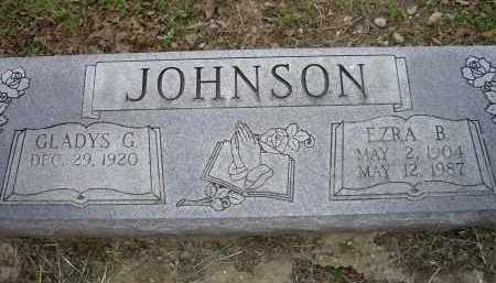 JOHNSON, EZRA B. - Lawrence County, Arkansas | EZRA B. JOHNSON - Arkansas Gravestone Photos