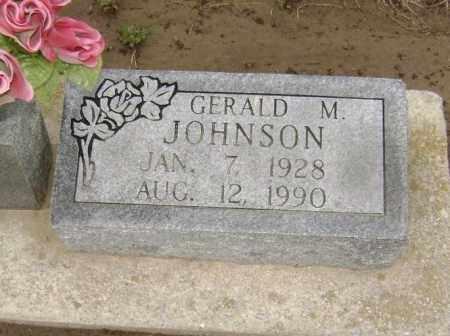 JOHNSON, GERALD M. - Lawrence County, Arkansas | GERALD M. JOHNSON - Arkansas Gravestone Photos