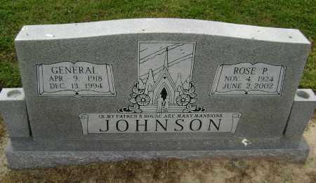 JOHNSON, GENERAL - Lawrence County, Arkansas | GENERAL JOHNSON - Arkansas Gravestone Photos