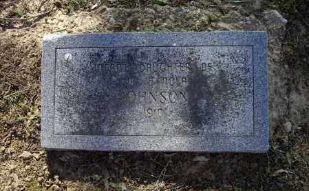 JOHNSON, INFANT DAUGHTER - Lawrence County, Arkansas | INFANT DAUGHTER JOHNSON - Arkansas Gravestone Photos