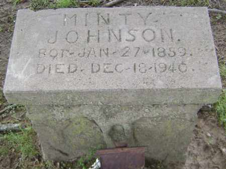 JOHNSON, MINTY - Lawrence County, Arkansas | MINTY JOHNSON - Arkansas Gravestone Photos