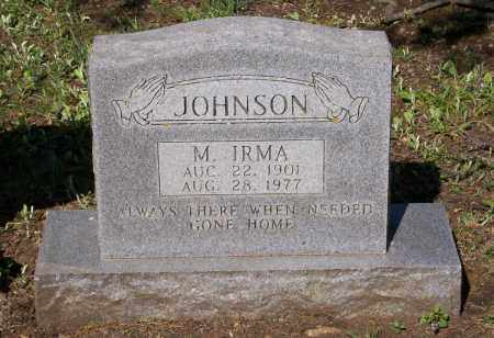 JOHNSON, MINNIE IRMA - Lawrence County, Arkansas | MINNIE IRMA JOHNSON - Arkansas Gravestone Photos