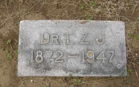 JOHNSON, MD, T. Z. - Lawrence County, Arkansas | T. Z. JOHNSON, MD - Arkansas Gravestone Photos