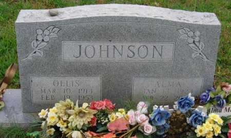 JOHNSON, OLLIS - Lawrence County, Arkansas | OLLIS JOHNSON - Arkansas Gravestone Photos