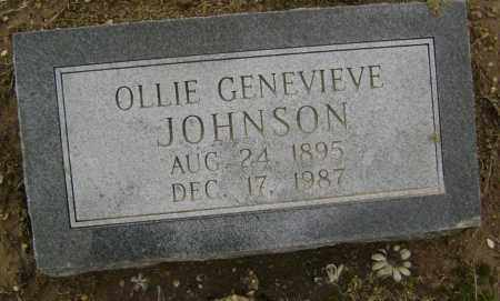 JOHNSON, OLLIE GENEVIEVE - Lawrence County, Arkansas | OLLIE GENEVIEVE JOHNSON - Arkansas Gravestone Photos