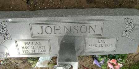 JOHNSON, J. M. - Lawrence County, Arkansas | J. M. JOHNSON - Arkansas Gravestone Photos