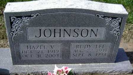 JOHNSON, RUDY LEE - Lawrence County, Arkansas | RUDY LEE JOHNSON - Arkansas Gravestone Photos