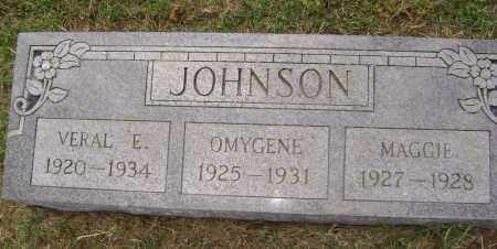 JOHNSON, VERAL E. - Lawrence County, Arkansas | VERAL E. JOHNSON - Arkansas Gravestone Photos