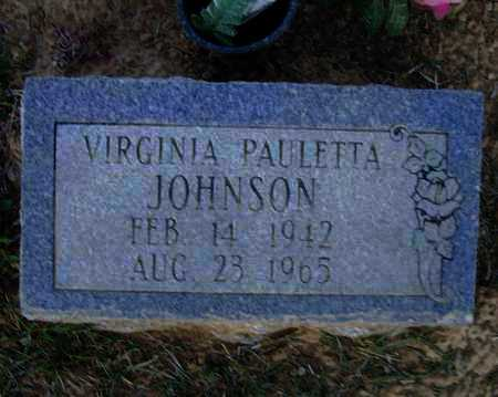 JOHNSON, VIRGINIA PAULETTA - Lawrence County, Arkansas | VIRGINIA PAULETTA JOHNSON - Arkansas Gravestone Photos