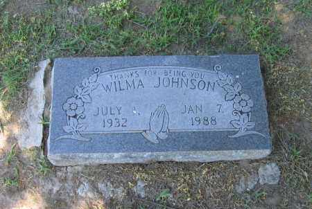 JOHNSON, WILMA FERN - Lawrence County, Arkansas | WILMA FERN JOHNSON - Arkansas Gravestone Photos