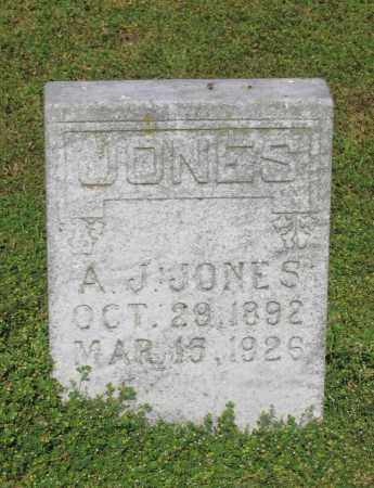 JONES, A. J. - Lawrence County, Arkansas | A. J. JONES - Arkansas Gravestone Photos