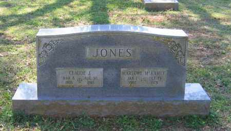 JONES, CLAUDE J. - Lawrence County, Arkansas | CLAUDE J. JONES - Arkansas Gravestone Photos