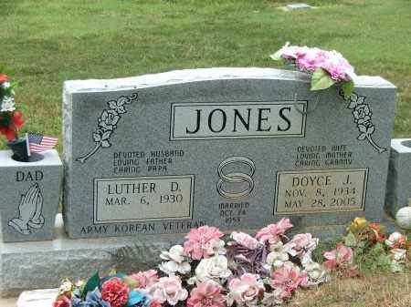 HAMILTON JONES, DOYCE JEAN - Lawrence County, Arkansas | DOYCE JEAN HAMILTON JONES - Arkansas Gravestone Photos
