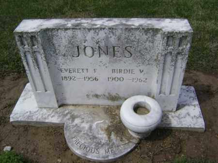 JONES, BIRDIE V. - Lawrence County, Arkansas | BIRDIE V. JONES - Arkansas Gravestone Photos
