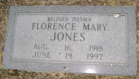JONES, FLORENCE MARY - Lawrence County, Arkansas | FLORENCE MARY JONES - Arkansas Gravestone Photos