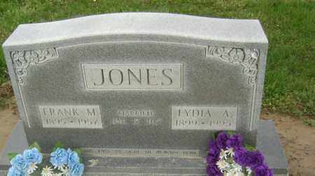 JONES, FRANK M. - Lawrence County, Arkansas | FRANK M. JONES - Arkansas Gravestone Photos