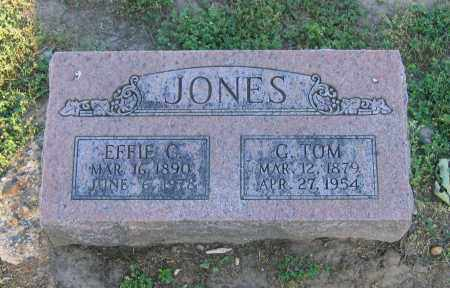 JONES, EFFIE - Lawrence County, Arkansas | EFFIE JONES - Arkansas Gravestone Photos
