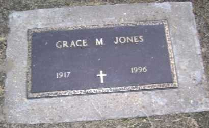 JONES, GRACE M. - Lawrence County, Arkansas | GRACE M. JONES - Arkansas Gravestone Photos