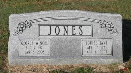 JONES, GEORGE WINCEL - Lawrence County, Arkansas | GEORGE WINCEL JONES - Arkansas Gravestone Photos