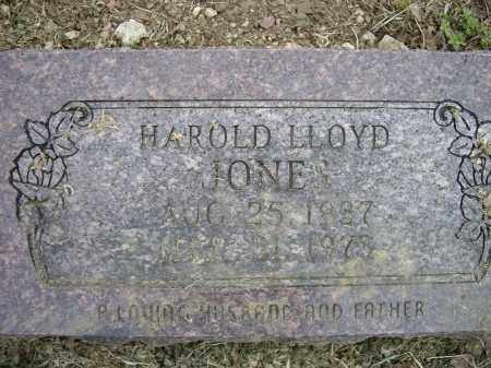 JONES, HAROLD LLOYD - Lawrence County, Arkansas | HAROLD LLOYD JONES - Arkansas Gravestone Photos