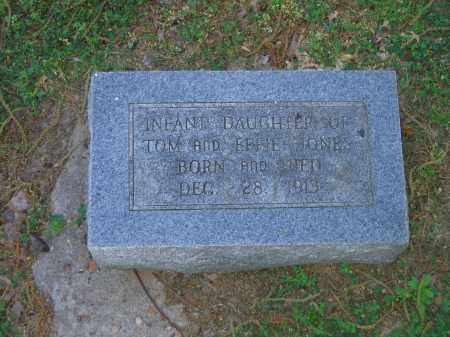 JONES, INFANT DAUGHTER - Lawrence County, Arkansas | INFANT DAUGHTER JONES - Arkansas Gravestone Photos