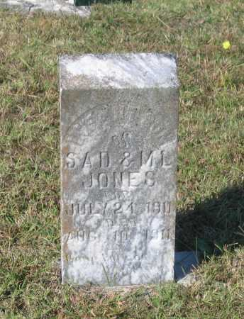 JONES, INFANT SON - Lawrence County, Arkansas | INFANT SON JONES - Arkansas Gravestone Photos